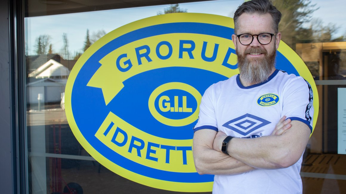 Aksel Bergo er Groruds nye a-lagstrener